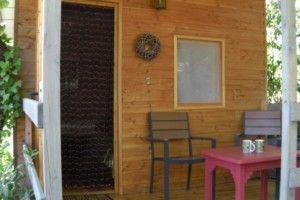 Terrasse cabane Les Renards