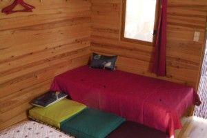 Cabane Les renards (lit en 90, lit en 60 amovible)